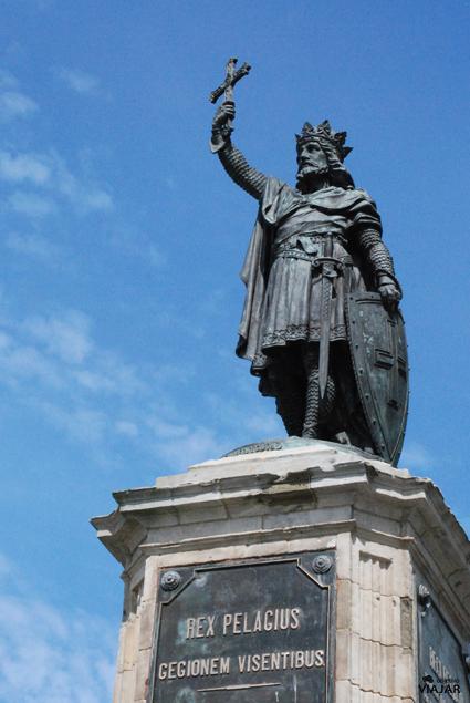Monumento a Pelayo. Gijón