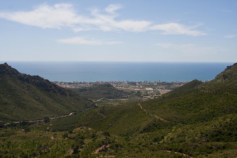 Parque Natural del Desierto de las Palmas. Foto Miguel A. Muñoz Romero