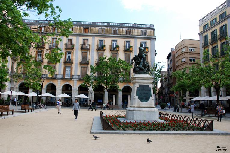 Plaça de la Independència. Girona