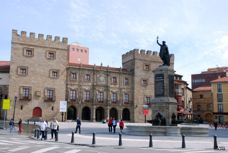 Plaza del Marqués. Gijón