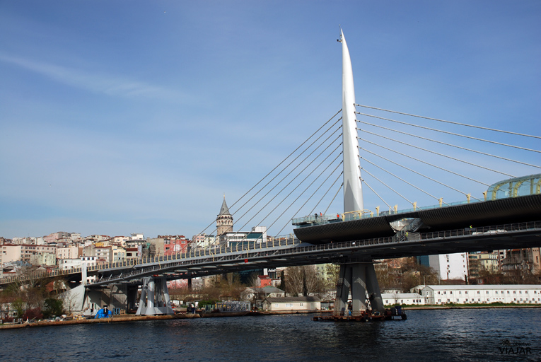 Puente Unkapani. Estambul