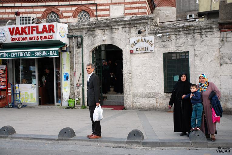Selmanağa Camii. Üsküdar. Estambul