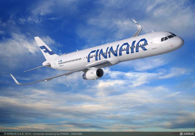 A321 de Finnair