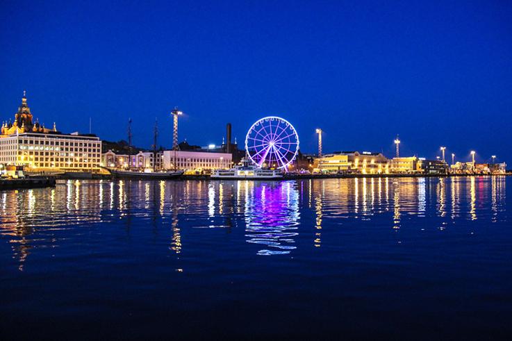 Finnair Sky Wheel en Helsinki