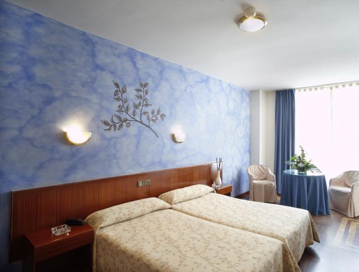 Habitación doble superior. Hotel San Miguel. Gijón