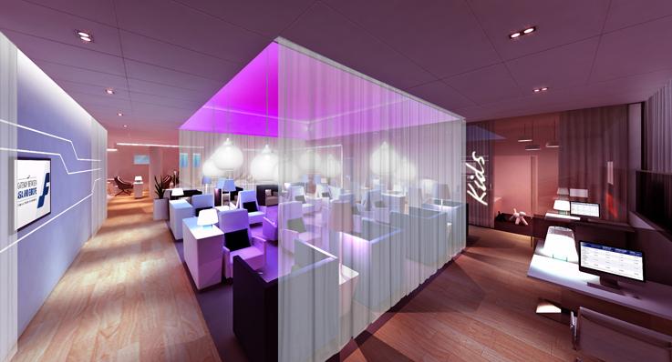 Premium Lounge. Aeropuerto de Helsinki