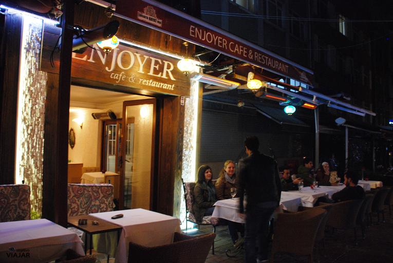 Restaurante Enjoyer. Estambul