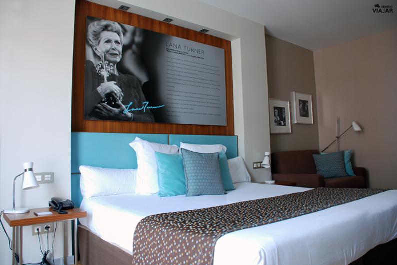 Habitación Lana Turner. Hotel Astoria7. Donostia