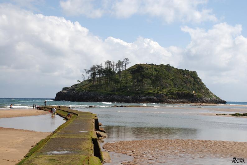 Isla de Garraitz. Lekeitio