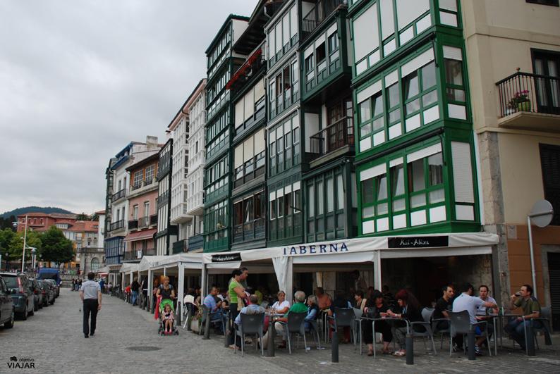 Restaurantes y tabernas del puerto. Lekeitio