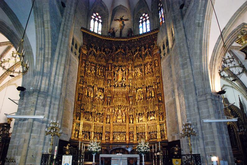 Retablo de la Basílica de la Asunción de Santa María. Lekeitio