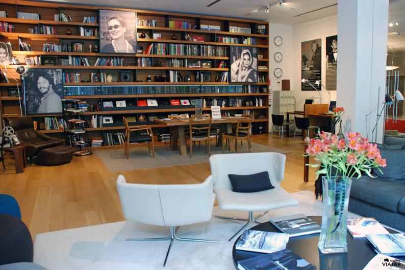 Salón biblioteca. Hotel Astoria7. Donostia