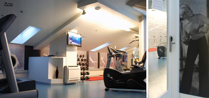 Sala de fitness. Hotel Astoria7. Donostia
