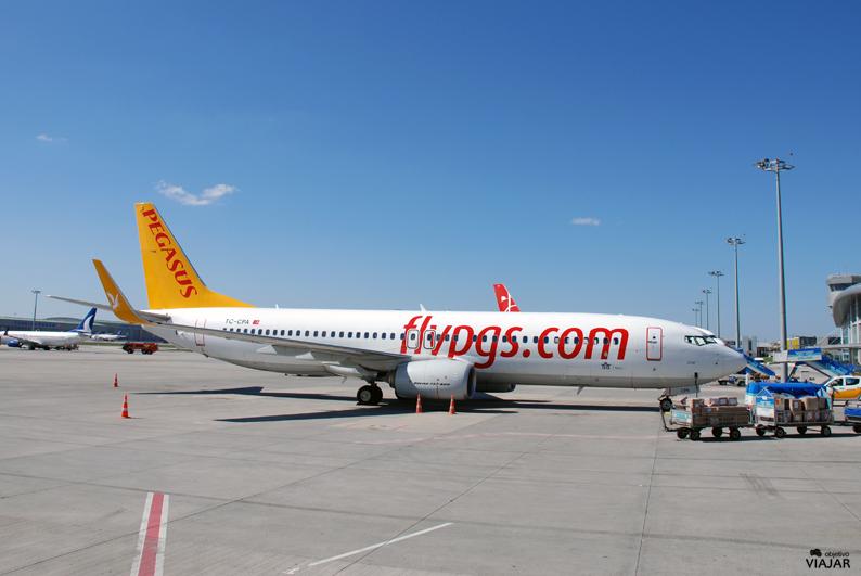 Avión de Pegasus Airlines