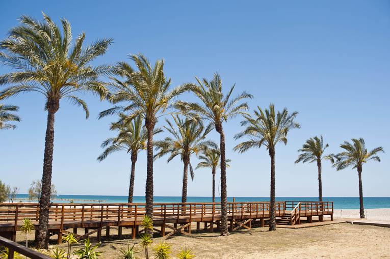 Playa de Benicàssim. Foto Miguel A. Munoz Romero