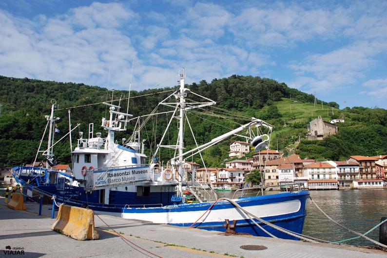 Barco Museo Mater. Pasai San Pedro. Pasaia