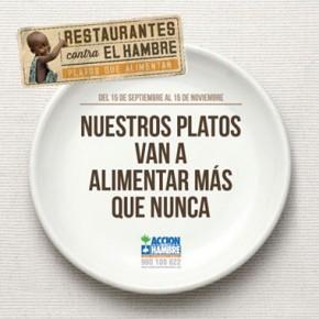 Restaurantes contra el Hambre: platos que salvan vidas