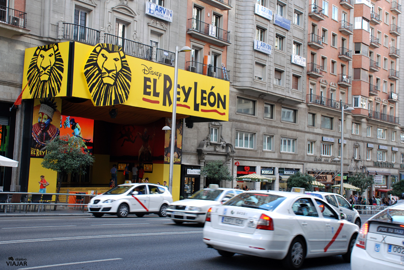 El Rey León en la Gran Vía madrileña