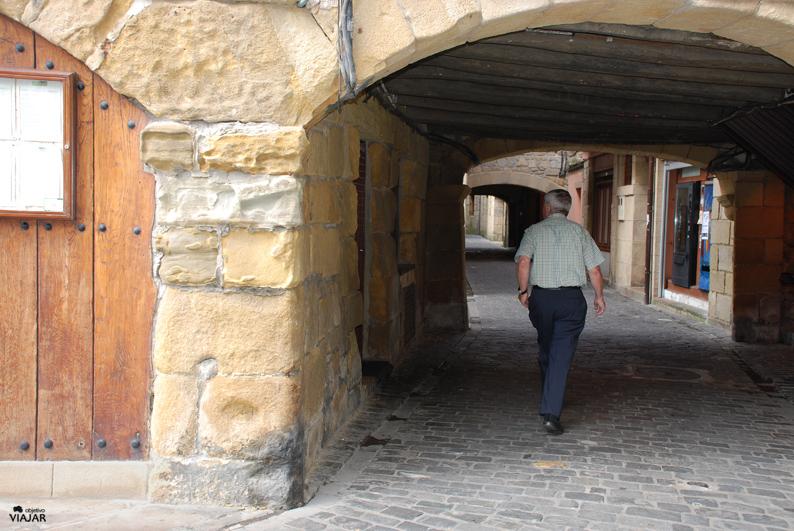 Pasadizos del casco histórico de Pasai Donibane. Pasaia