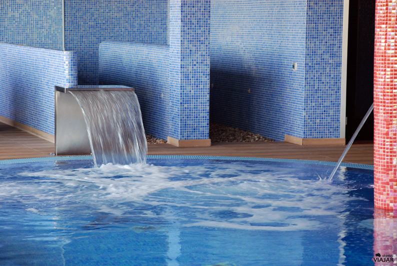 Piscina dinámica del spa. Finca La Estacada