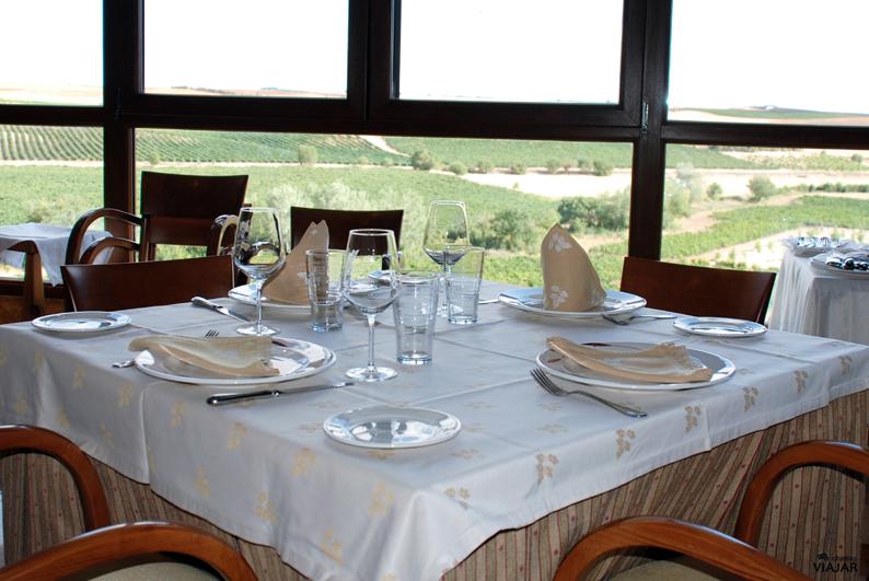 Restaurante del Complejo Finca La Estacada