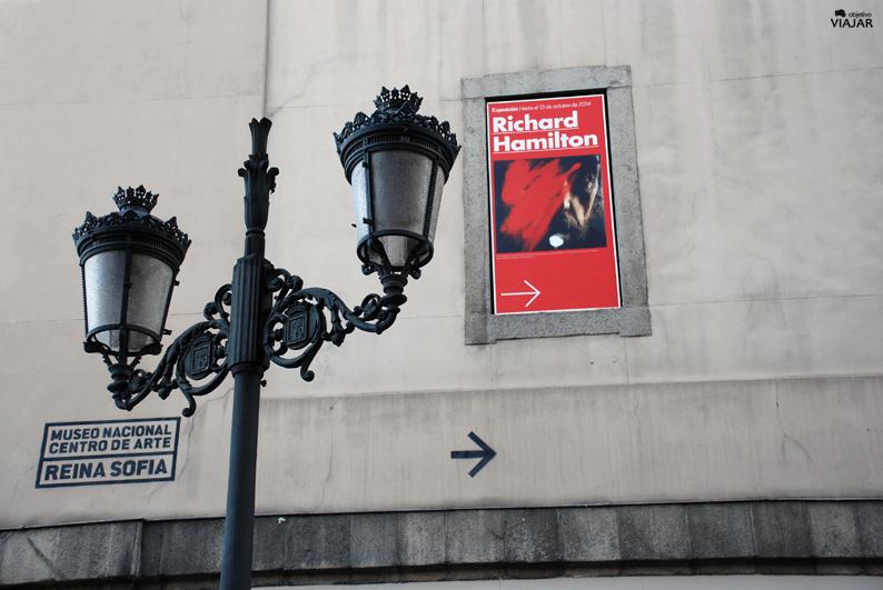 Richard Hamilton en el Museo Reina Sofía. Madrid