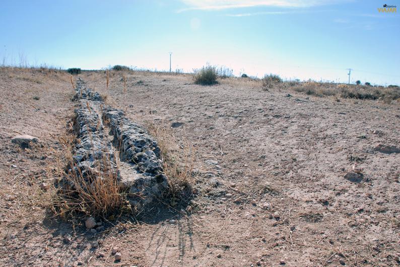 Acueducto. Parque Arqueológico de Segóbriga