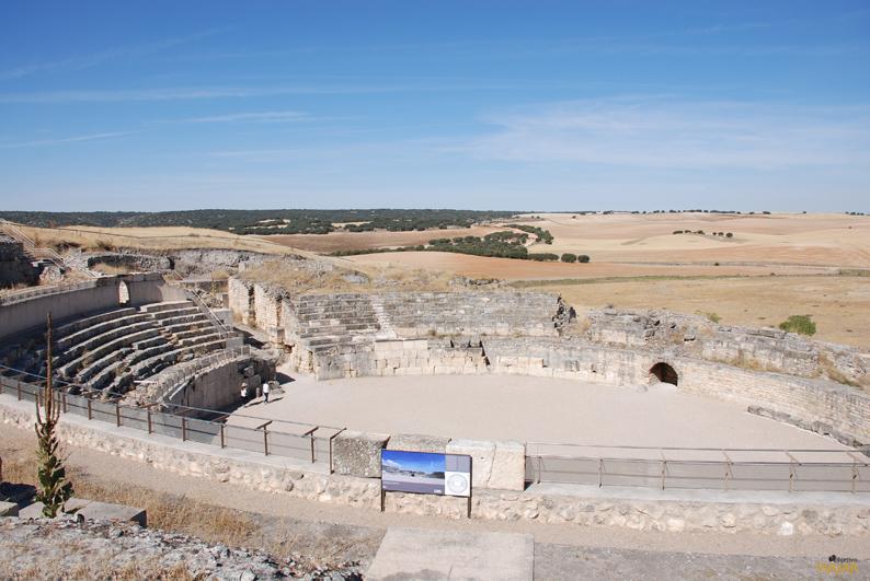 Anfiteatro. Parque Arqueológico de Segóbriga