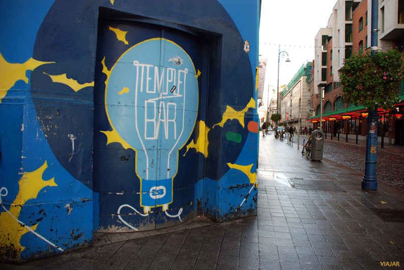 Callejeando por el Temple Bar. Dublín