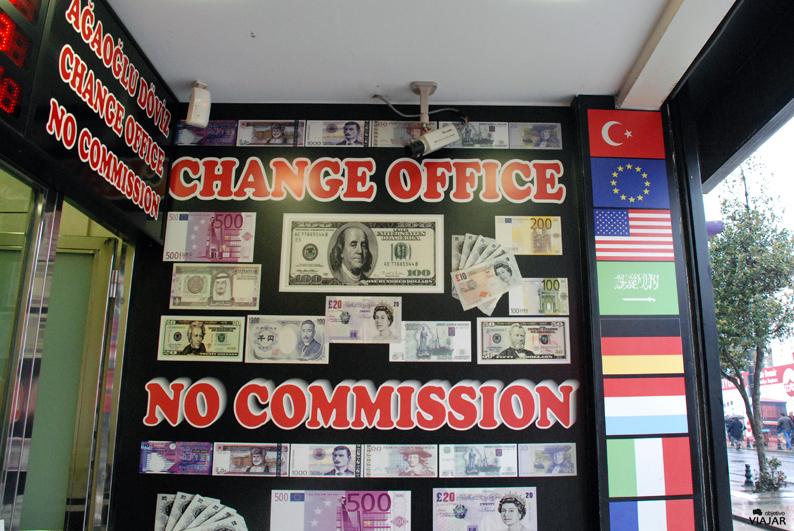 Casa de cambio. Estambul