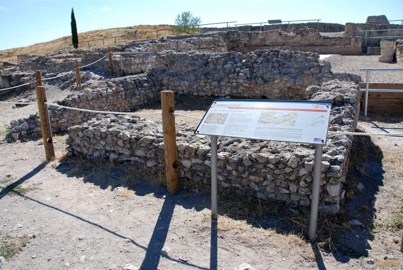 Casa del procurador minero. Parque Arqueológico de Segóbriga