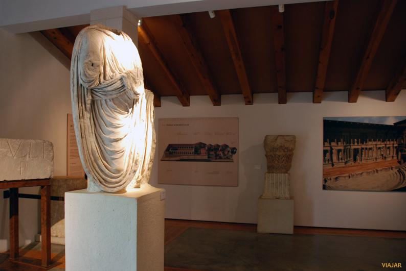 Centro de interpretación. Parque Arqueológico de Segóbriga