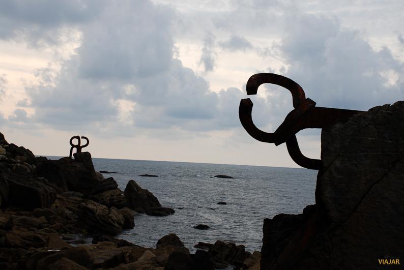 El Peine del Viento de Eduardo Chillida. San Sebastián