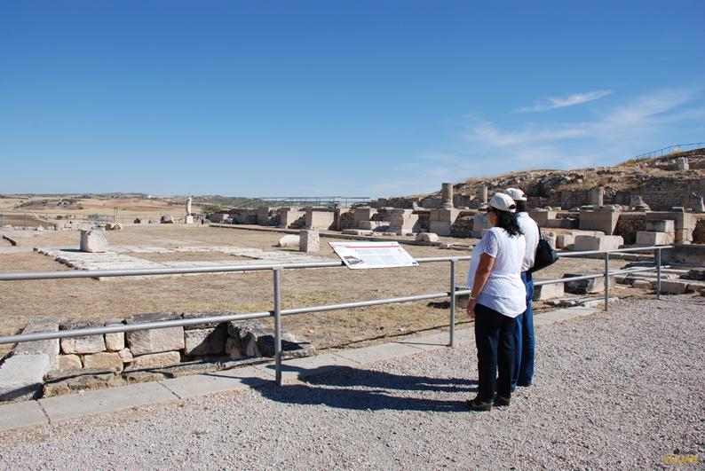 Foro.  Parque Arqueológico de Segóbriga