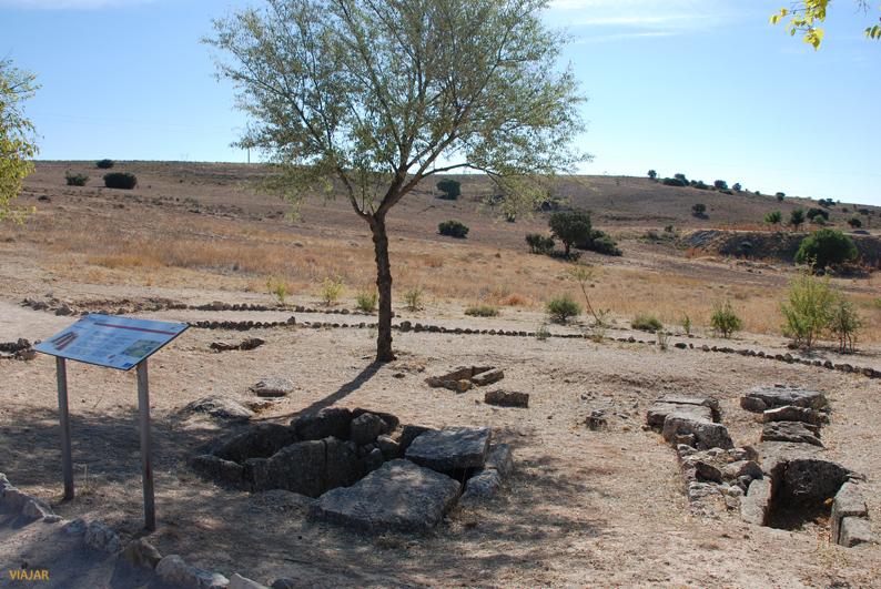 Las necrópolis. Parque Arqueológico de Segóbriga
