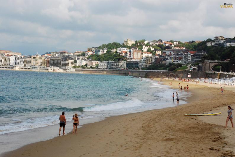 Playa de Ondarreta. San Sebastián