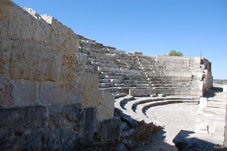Teatro. Parque Arqueológico de Segóbriga