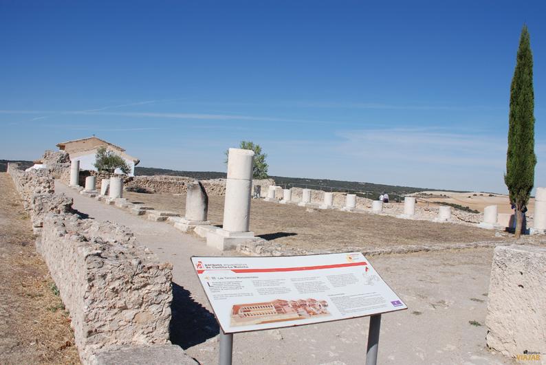 Termas monumentales.  Parque Arqueológico de Segóbriga