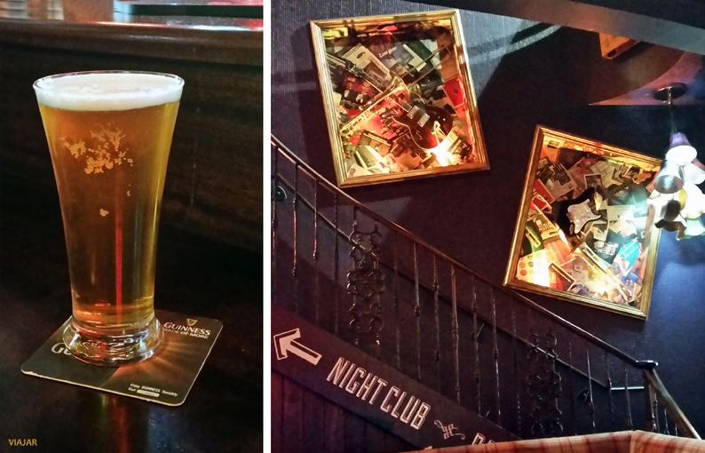 Una Harp en Bad Bobs. Pubs Dublín