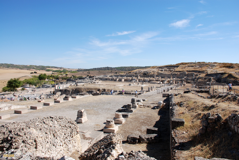 Vista del Parque Arqueológico de Segóbriga