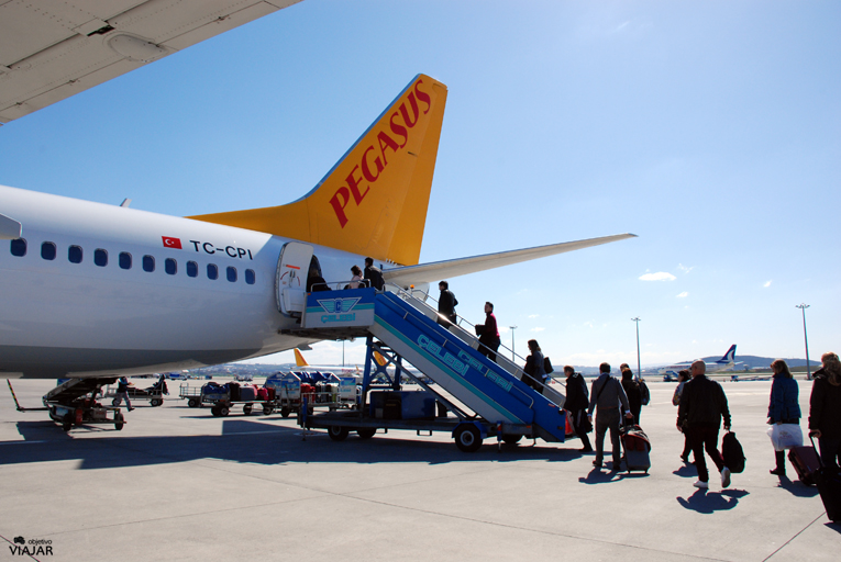 Vuelo Estambul-Madrid con Pegasus Airlines