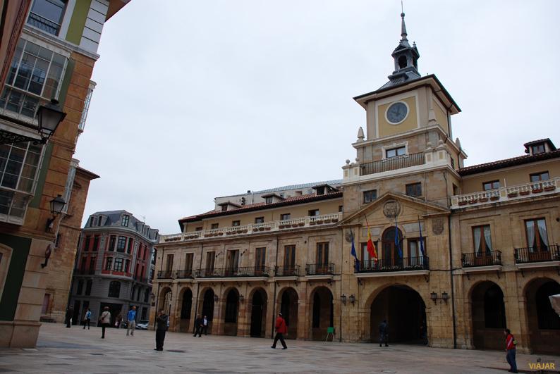 Ayuntamiento. Que ver en Oviedo