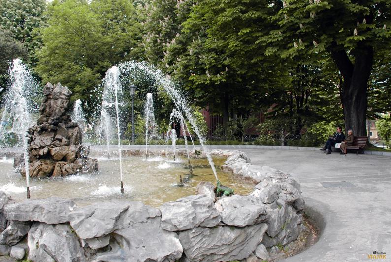 Campo de San Francisco. Oviedo