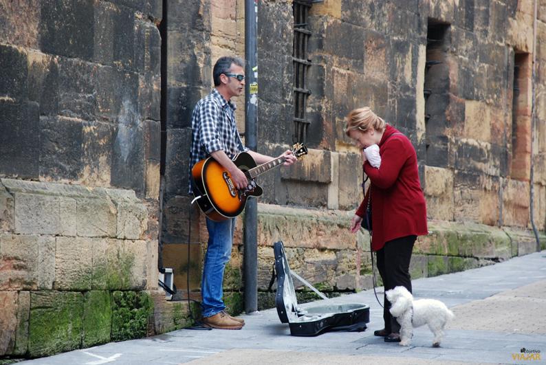 Músico callejero. Oviedo