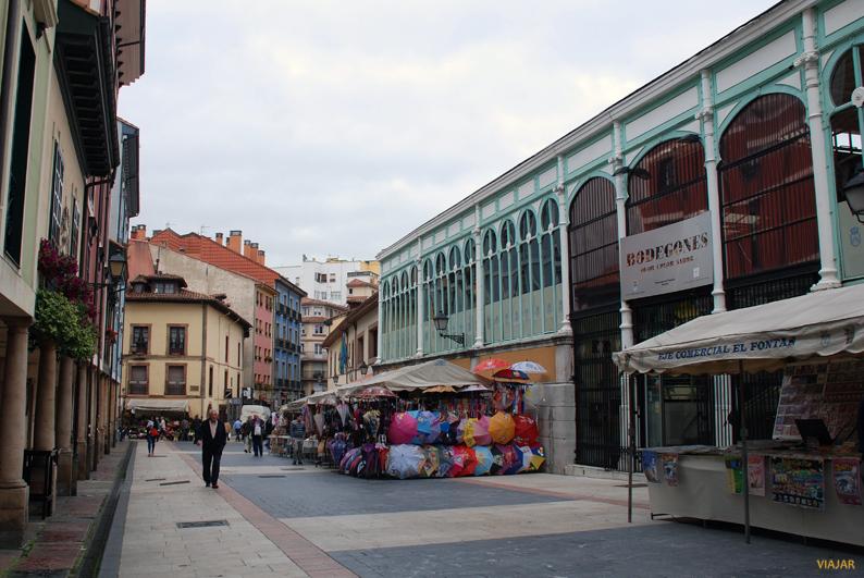 Mercado del Fontán. Oviedo