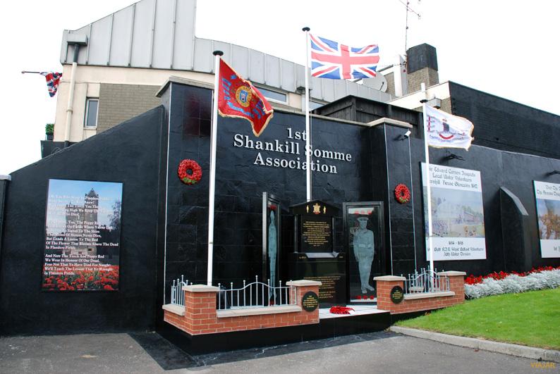 Monumento dedicado a los caídos de la 36 Ulster Division durante la I Guerra Mundial. Belfast