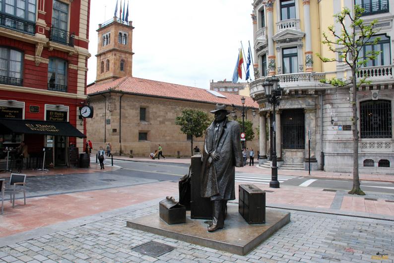 Plaza Porlier. Oviedo