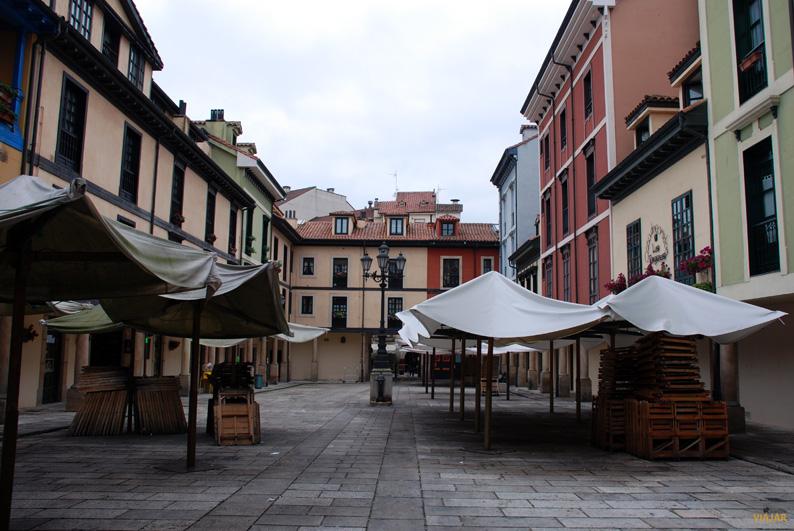 Plaza del Fontan. Que ver en Oviedo