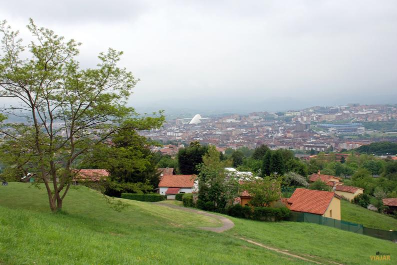 Vista de Oviedo desde el monte Naranco