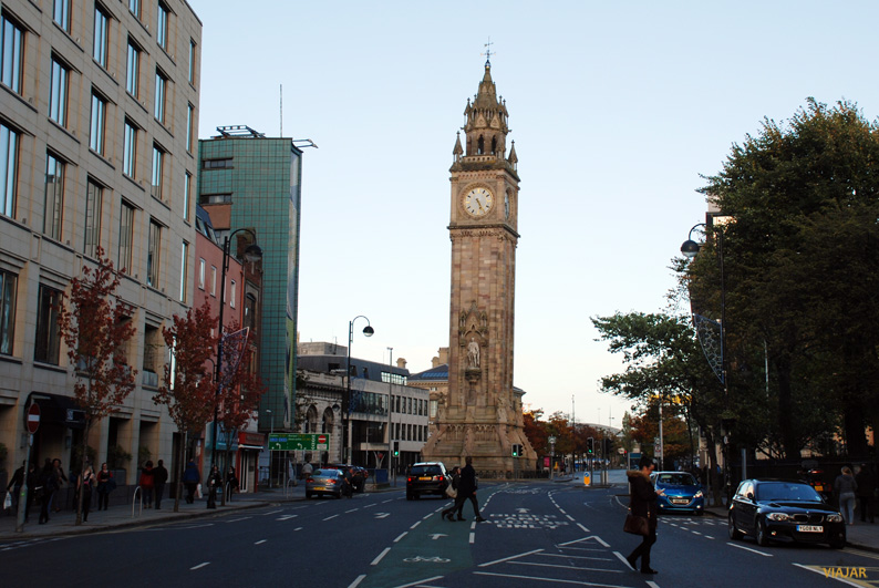 Albert Clock Tower. Belfast